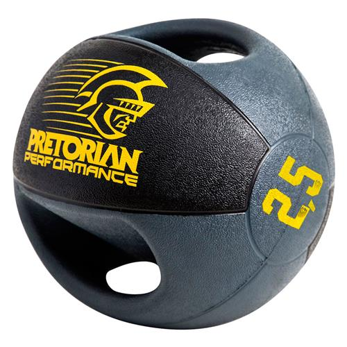 Medicine Ball Com 02 Pegadas 2,5Kg  Pretorian Performance