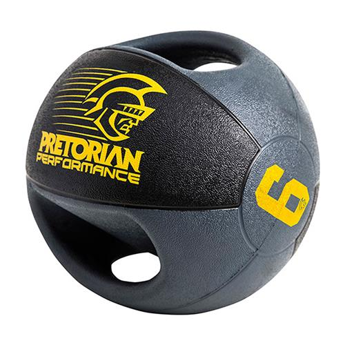 Medicine Ball Com 02 Pegadas 6Kg  Pretorian Performance