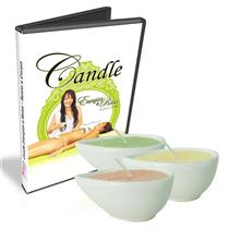 Kit Candle Massage - Dvd + Velas Para Massagem