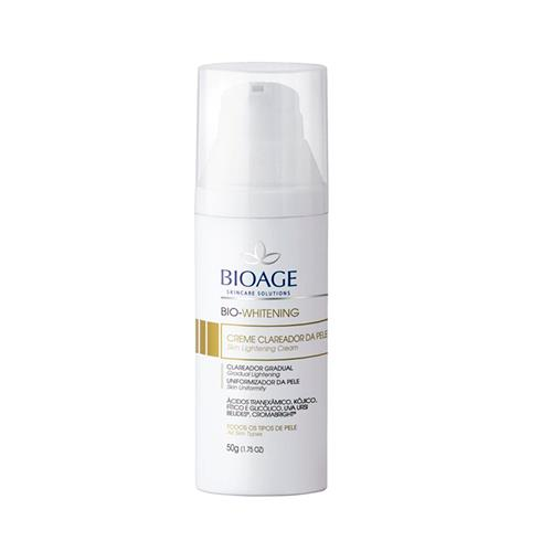 Creme Clareador Bioage - Bio Whitening - 30G