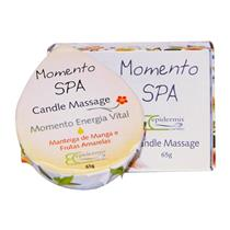 Vela Para Massagem Epidermis - Candle Massage Energia 65G