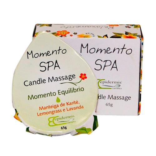 Vela Para Massagem Epidermis - Candle Massage Equilibrio 65G