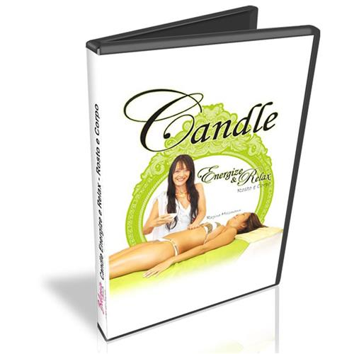 Dvd - Candle Massage - Massagem Com Velas Naturais