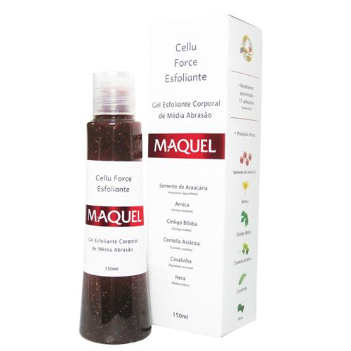 Esfoliante Cellu Force Home Care Maquel 150Ml