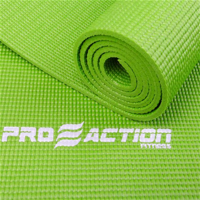 Tapete para yoga e pilates em pvc proaction yoga mat for Tapee de fenetre pvc