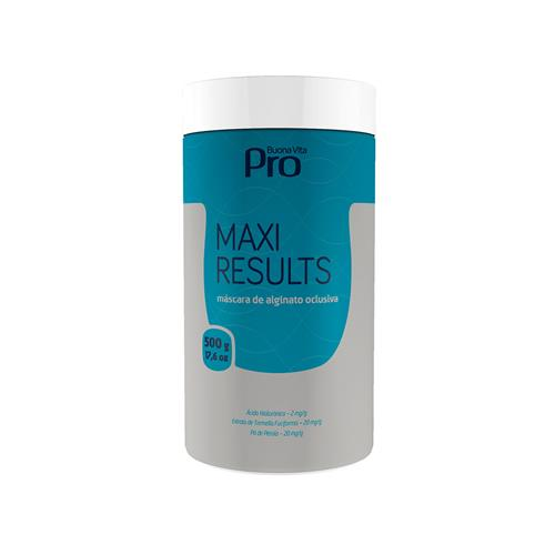 Maxi Results - Máscara De Alginato Oclusiva 500G
