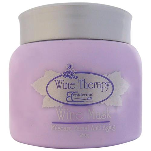 Máscara Facial Anti Aging Epidermis - Wine Mask, Gourmeterapia 250G
