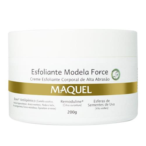 Esfoliante Modela Force Maquel Home Care 200G