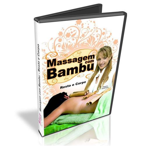 Dvd - Massagem Com Bambu