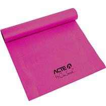 Tapete - Yoga Mat E Pilates Em Pvc Rosa Acte Sports By Cau Saad