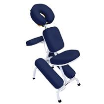 Cadeira De Massagem Quick Massage De Metal - Legno AZUL NOTURNO
