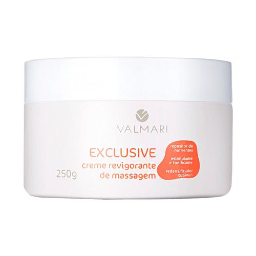 Creme Revigorante De Massagem Facial Exclusive 250G - Valmari