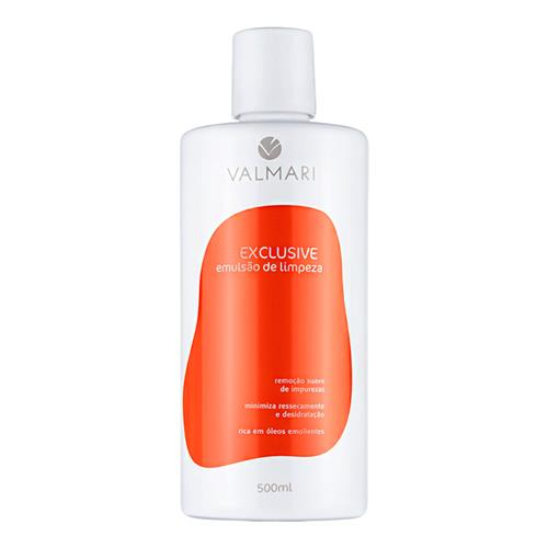 Emulsão De Limpeza Facial Exclusive 500Ml - Valmari