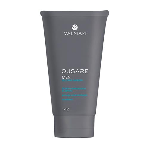 Gel Para Barbear Ousare Men 120G - Valmari
