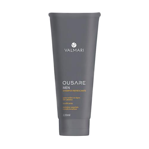 Shampoo Refrescante Ousare Men 220Ml - Valmari