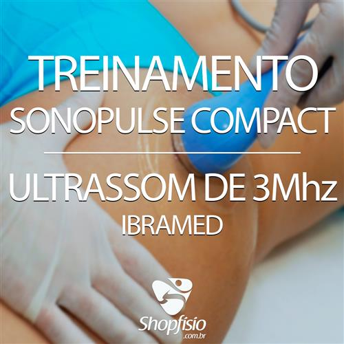Treinamento Sonopulse Compact Ultrassom 3Mhz - Ibramed