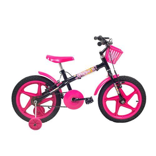 Bicicleta Infantil Feminina Aro 16 Fofys - Verden Bikes