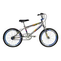Bicicleta Infantil Masculina Aro 20 Trust Cromo - Verden Bikes