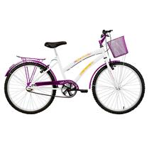 Bicicleta Juvenil Feminina Aro 24 Breeze - Verden Bikes VIOLETA