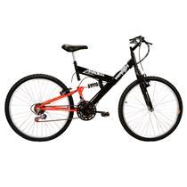 Bicicleta Masculina Aro 26 Com 18 Marchas Radikale - Verden Bikes LARANJA