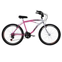 Bicicleta Aro 26 Com 21 Marchas Confort - Verden Bikes ROSA