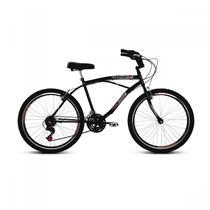 Bicicleta Aro 26 Com 21 Marchas Confort - Verden Bikes PRETO