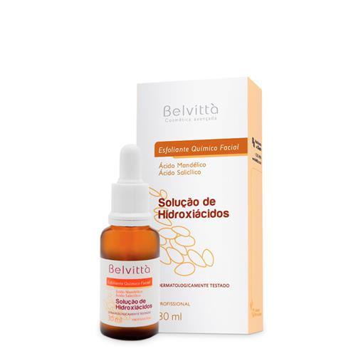 Esfoliante Quimico Facial Solução De Hidroxiácidos 30Ml - Belvittà