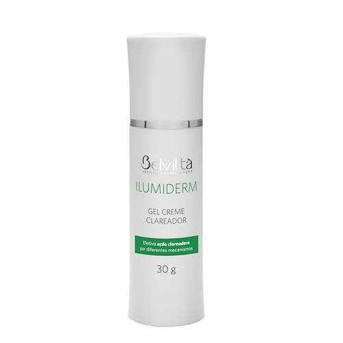 Gel Creme Clareador Facial Ilumiderm 30G - Belvittà