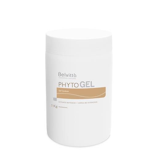 Gel Condutor Para Ultrassom Phyto Gel 1Kg - Belvittà
