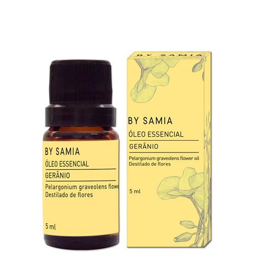 Óleo Essencial De Gerânio Bourbom 5Ml - By Samia