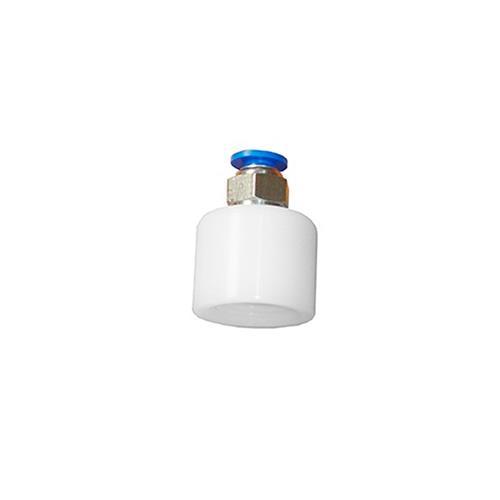 Adaptador De Plástico Com Engate Para Ventosa E Caneta Diamantada - Shopfisio