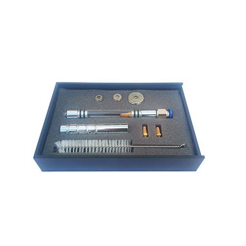 Kit Caneta Peeling Diamantada Luxo - Corpo De Acrílico E Alumínio C/ 3 Ponteiras - Shopfisio