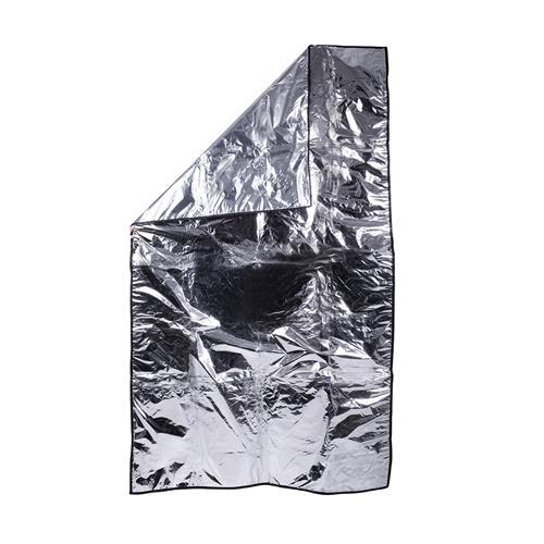 Lençol Térmico De Alumínio Mayler Forrado De Plástico 1Mx1,80M - Gianinis