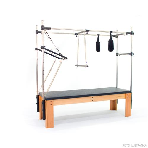 Aparelho de Pilates Cadillac Classic Resistência e Fortalecimento Muscular - Arktus