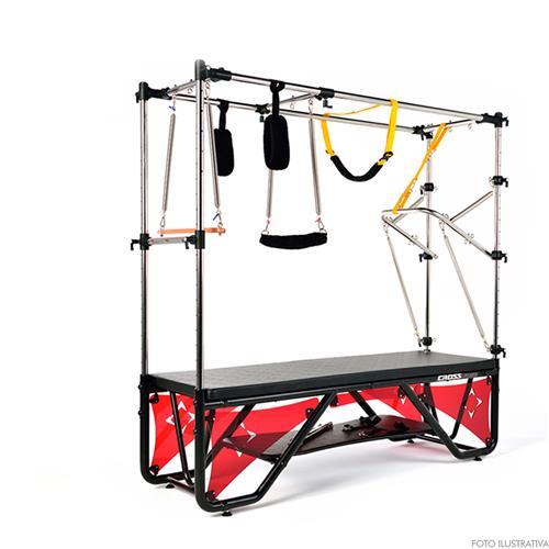 Aparelho de Pilates e Funcional Cadillac Trapézio Cross Resistência Muscular e Fortalecimento - Arktus