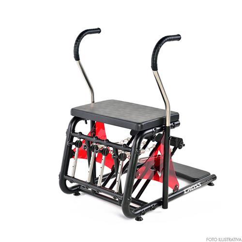 Cadeira de Pilates e Funcional Combo Cross Reabilitação e Reequilibração Muscular - Arktus