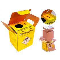 Coletor Para Material Perfurocortante Papelão - Descarpack
