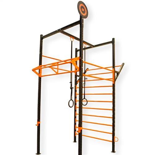 Gaiola Multifuncional Crossflex Ginastic Para Crossfit E Treinamento Funcional - Shopfisio