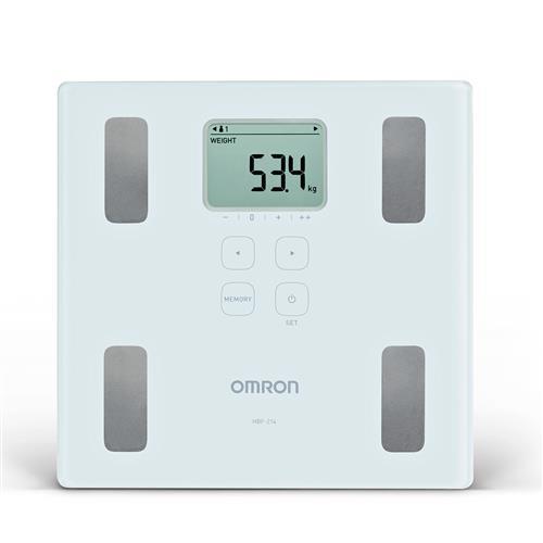 Balança Digital De Controle Corporal Até 150Kg Hbf-214La - Omron