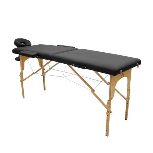 Maca De Massagem Portátil Com Altura Regulável E Bolsa Para Transporte Standard - Goldlife