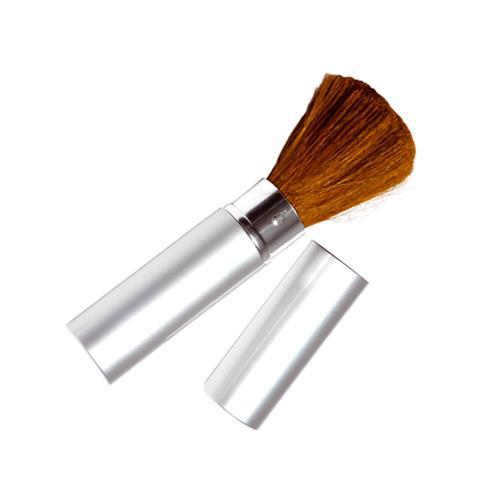 Pincel Para Maquiagem Tubo Em Alumínio Para Base E Pó - Santa Clara