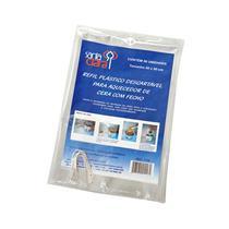 Refil Plástico Descartável Para Aquecedor De Cera Com Fecho - C/ 06 Un - Santa Clara