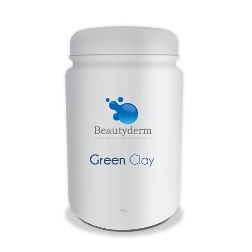 Argila Verde Green Clay 500G - Beauty Derm