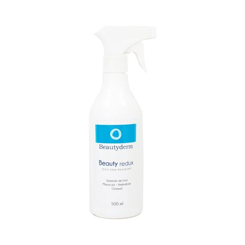 Óleo De Massagem Beauty Redux 500Ml - Beauty Derm