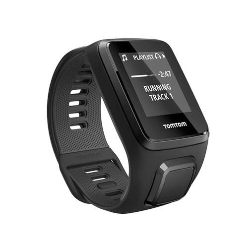 Relógio Fitness Spark 3 Music - C/ Fone Bluetooth, Gps, À Prova D`Água, 3Gb Preto - Tomtom