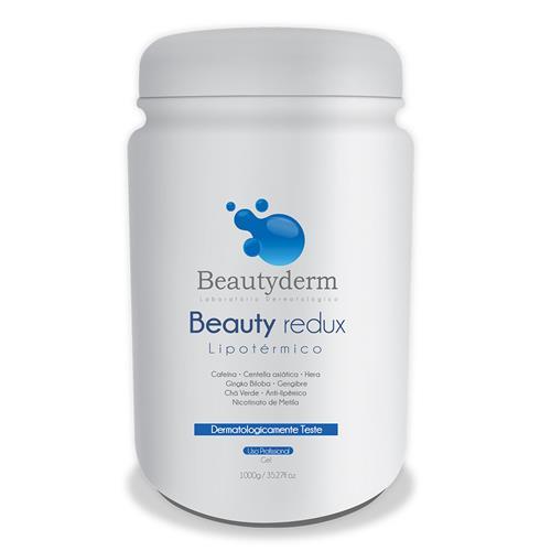 Gel Lipotérmico Beauty Derm 1Kg - Beauty Derm