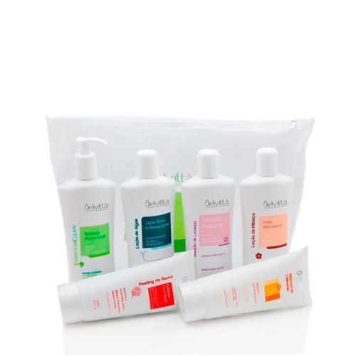 Kit Limpeza de Pele Detox Facial Essencial Clean - Belvittà