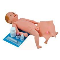 Manequim Bebê Bissexual Com Órgãos Internos Para Treino De Enfermagem - Sdorf Scientific