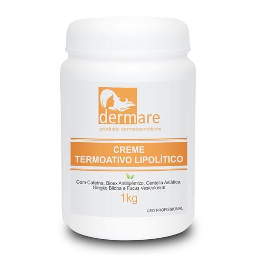 Creme Corporal Termoativo Anticelulite Lipolítico - Dermare