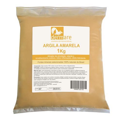Argila Amarela Anti Idade - Dermare